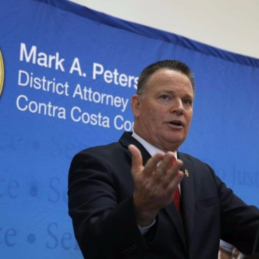 Mark Peterson, Contra Costa County District Attorney